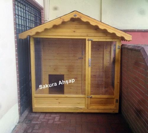Ahşap Köpek Kulübesi-015a