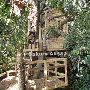 ağaç oyun evi- Robin Hood